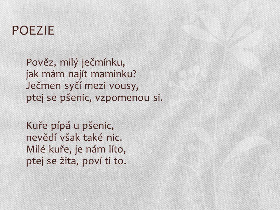 POEZIE Otázky: 1Jak se nazývá autor poezie.2.Na jaké druhy rozdělujeme poezii.