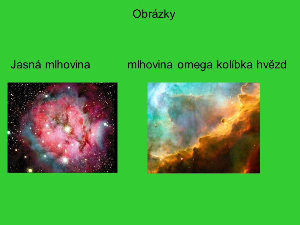 Obrázky Jasná mlhovina mlhovina omega kolíbka hvězd