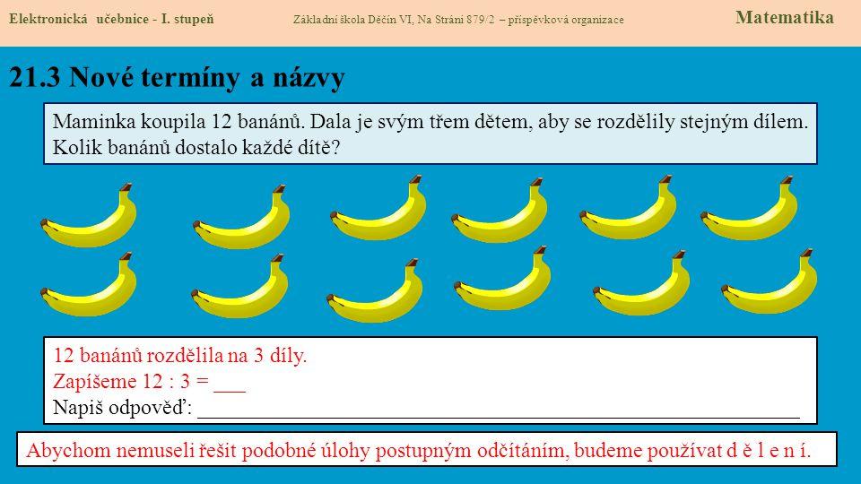 21.4 Co si řekneme nového.Elektronická učebnice - I.