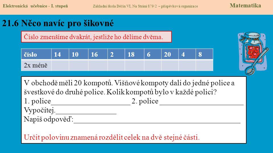 21.7 CLIL Elektronická učebnice - I.