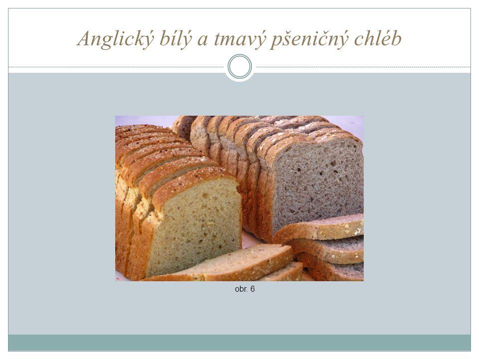Anglický bílý a tmavý pšeničný chléb obr. 6
