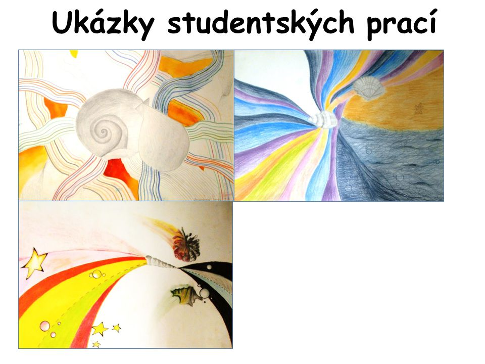 Ukázky studentských prací