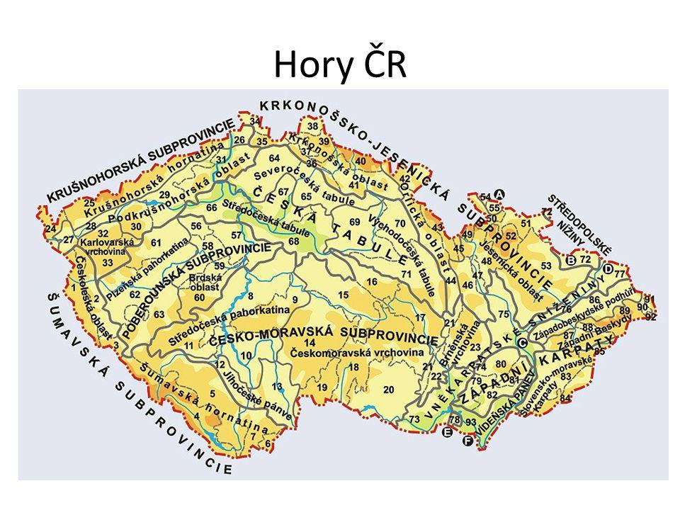 Hory ČR