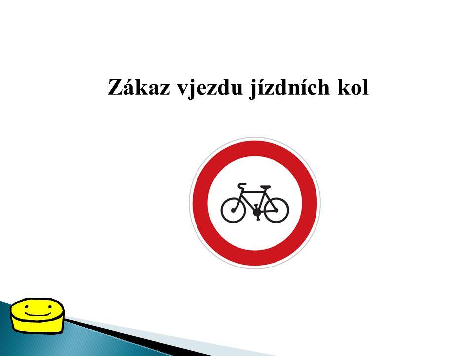 ZÁKAZOVÉ DOPRAVNÍ ZNAČKY Zákazové dopravní značky dávají všem řidičům, cyklistům i chodcům zákazy nebo omezení. Zákazové dopravní značky jsou červené
