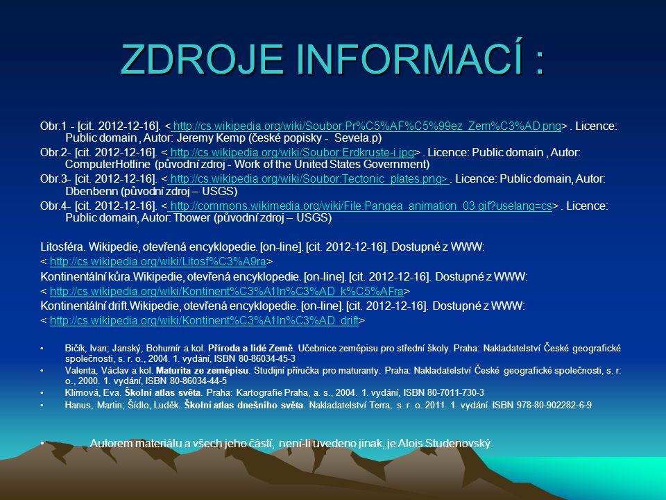 ZDROJE INFORMACÍ : Obr.1 - [cit.2012-12-16]..