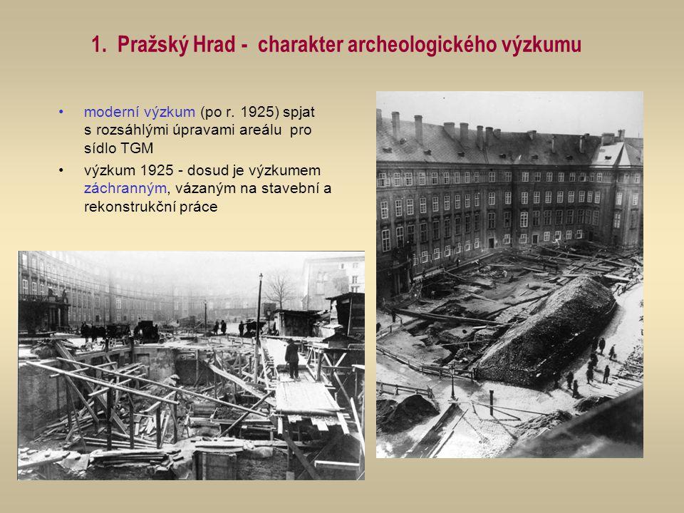 výzkumy I.Borkovského 3. nádvoří - nezpracováno kostel P.