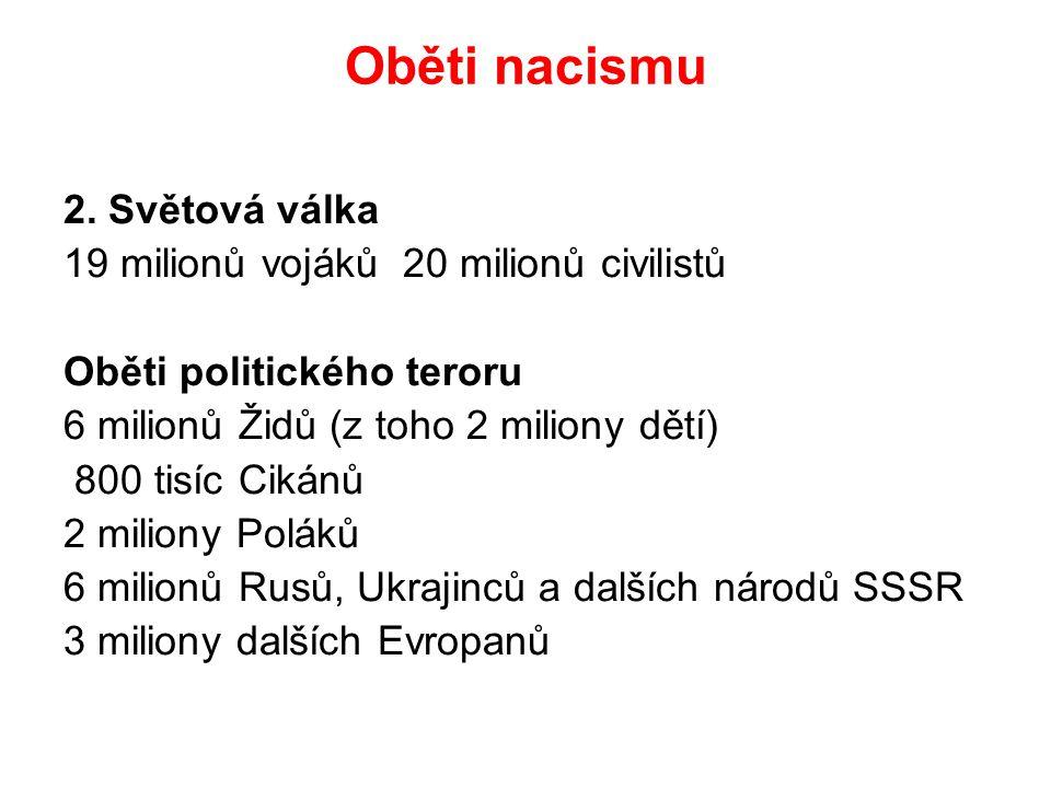 Oběti nacismu 2.
