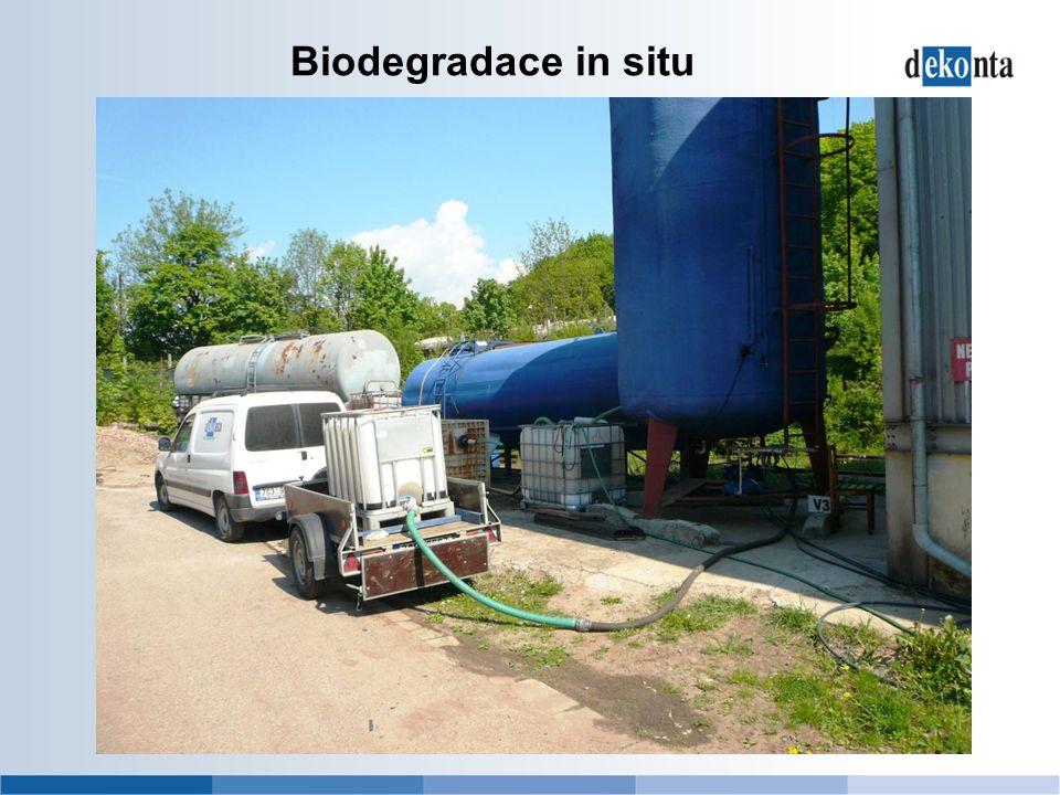 Biodegradace in situ
