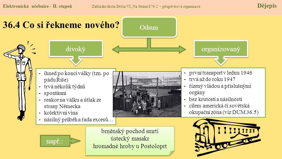 36.5 Procvičení a příklady Elektronická učebnice - II.