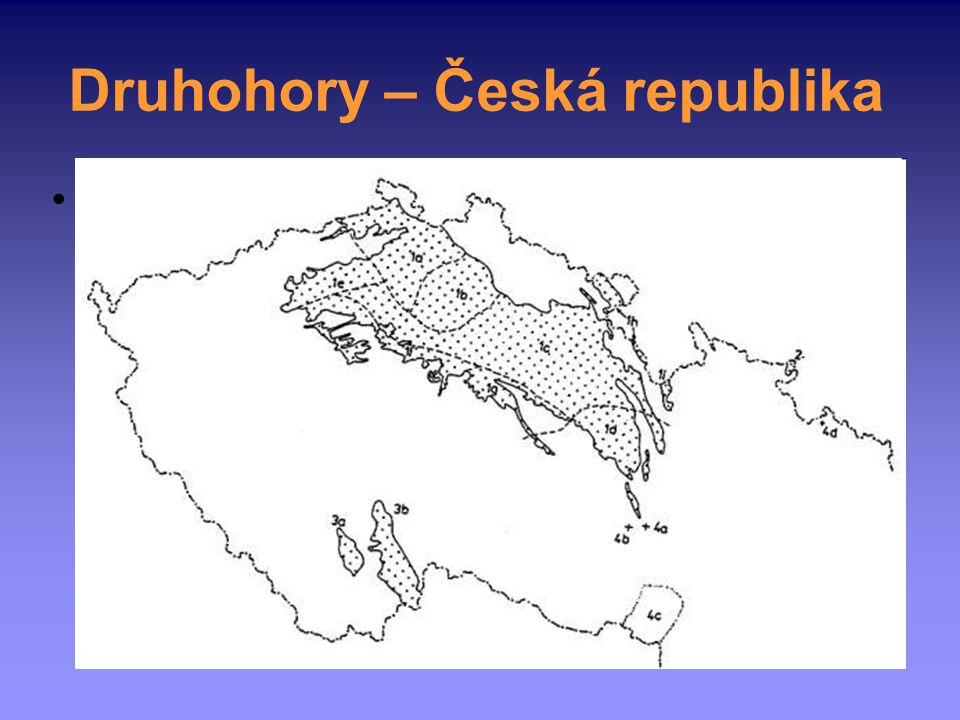 Druhohory – Česká republika křída poměrně dobře zastoupena → Česká křídová pánev