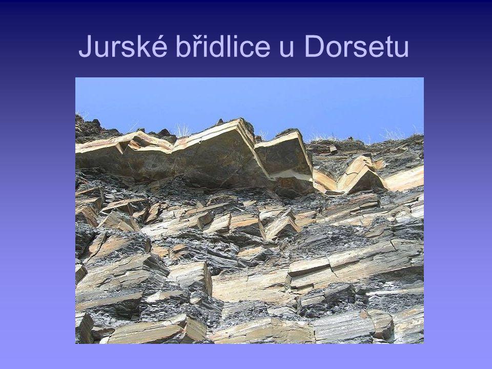 Jurské břidlice u Dorsetu