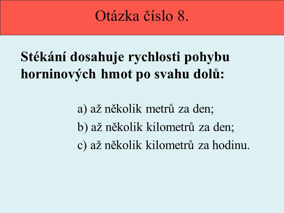 Otázka číslo 9.
