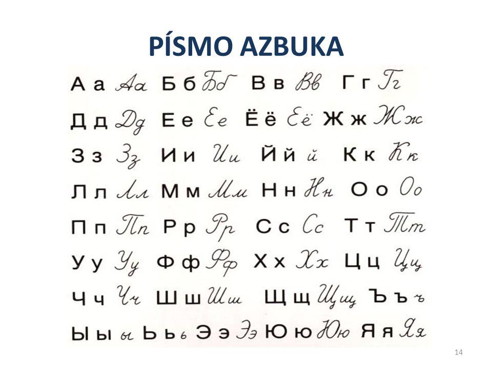 PÍSMO LATINKA 13