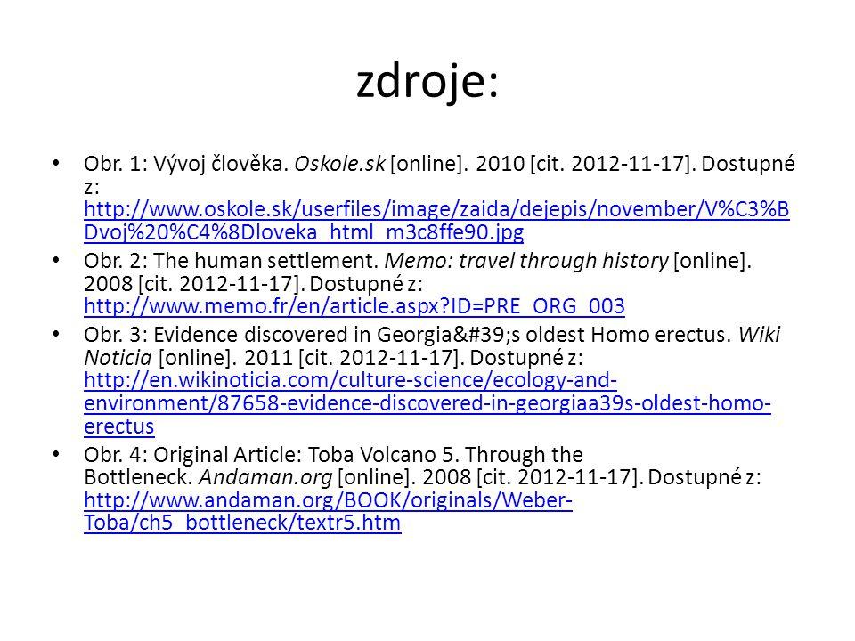 zdroje: Obr. 1: Vývoj člověka. Oskole.sk [online].