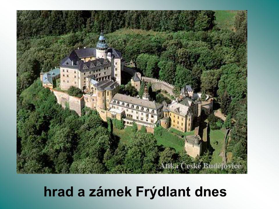 hrad a zámek Frýdlant dnes