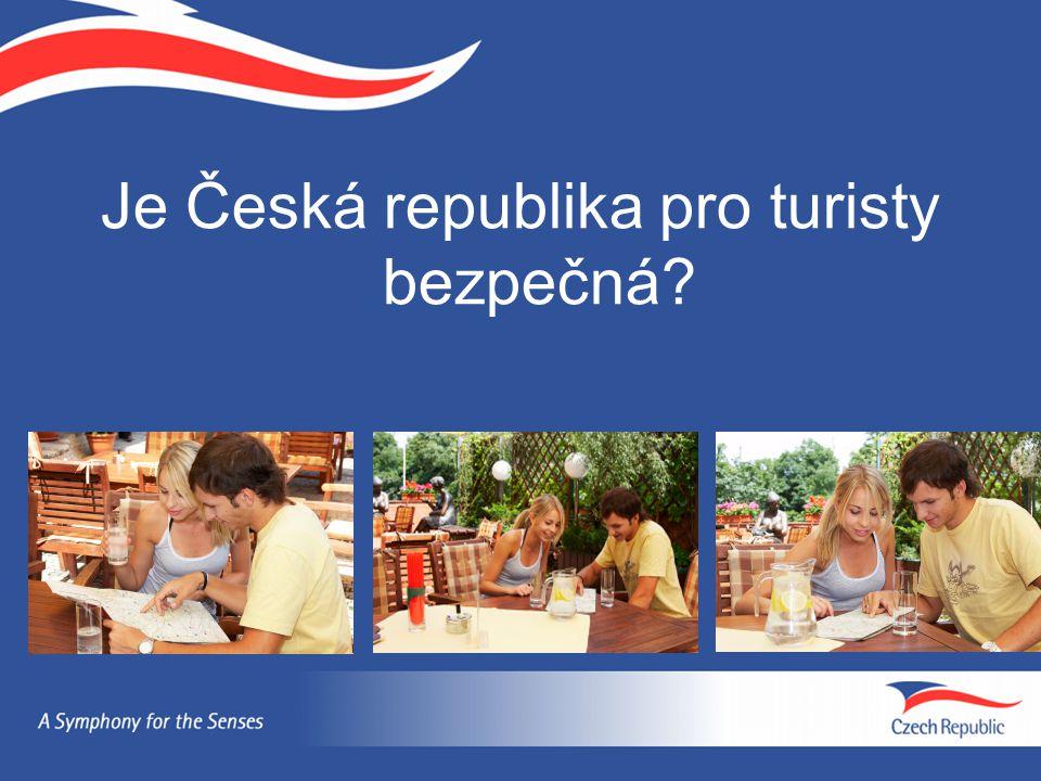 Je Česká republika pro turisty bezpečná?