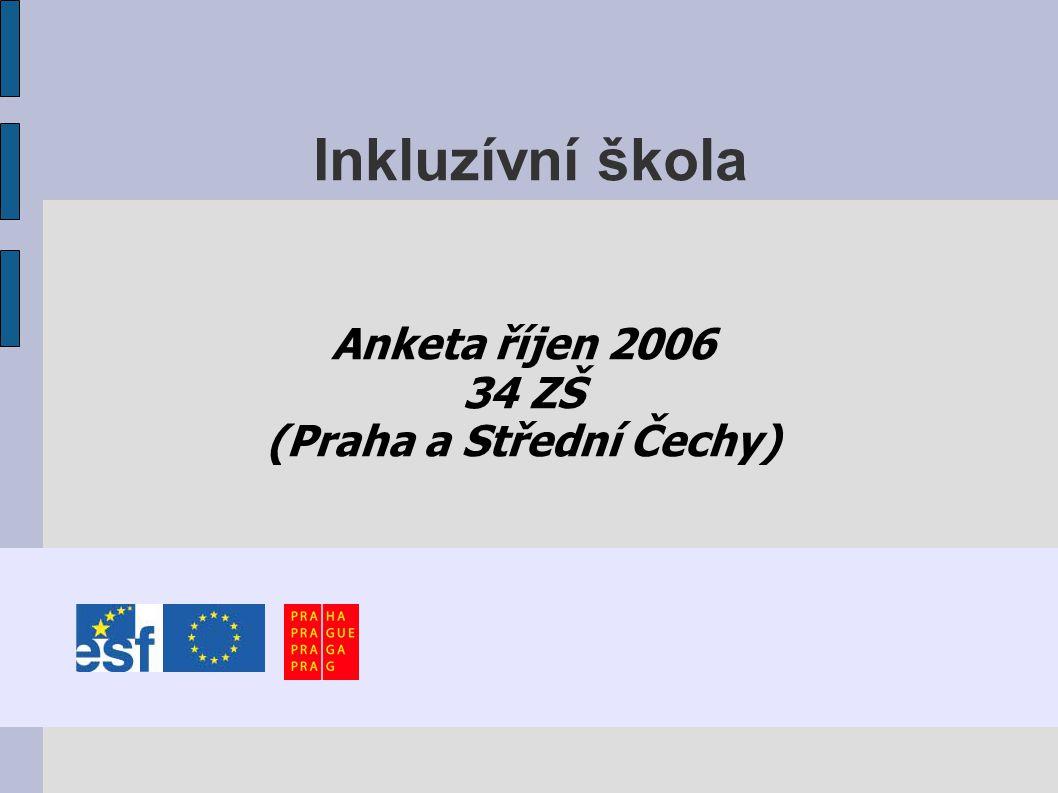 Inkluzívní škola Anketa říjen 2006 34 ZŠ (Praha a Střední Čechy)