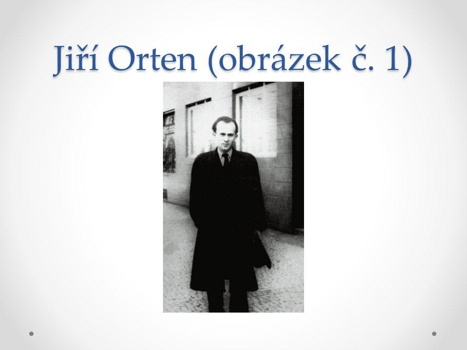Jiří Orten (obrázek č. 1)
