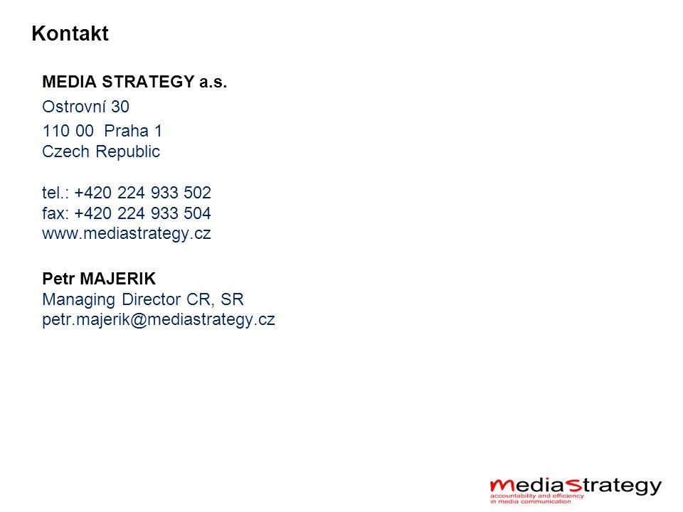 Kontakt MEDIA STRATEGY a.s.