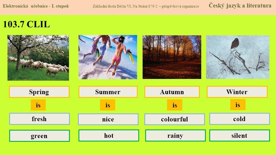 103.8 Test znalostí Správné odpovědi: 1.c 2.b 3.a 4.a Test na známku Elektronická učebnice - I.