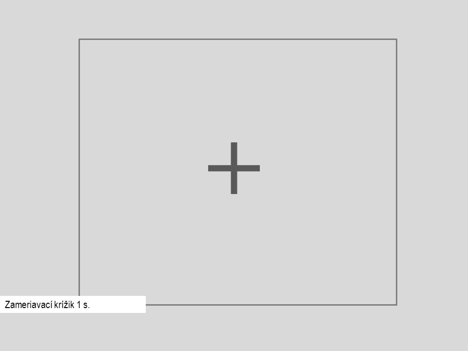 Zameriavací krížik 1 s.
