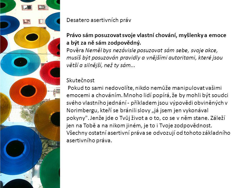 Manipulativní techniky Shostromova typologie manipulace Diktátor – odvolává se na autoritu a tradici, hojně využívá citáty.