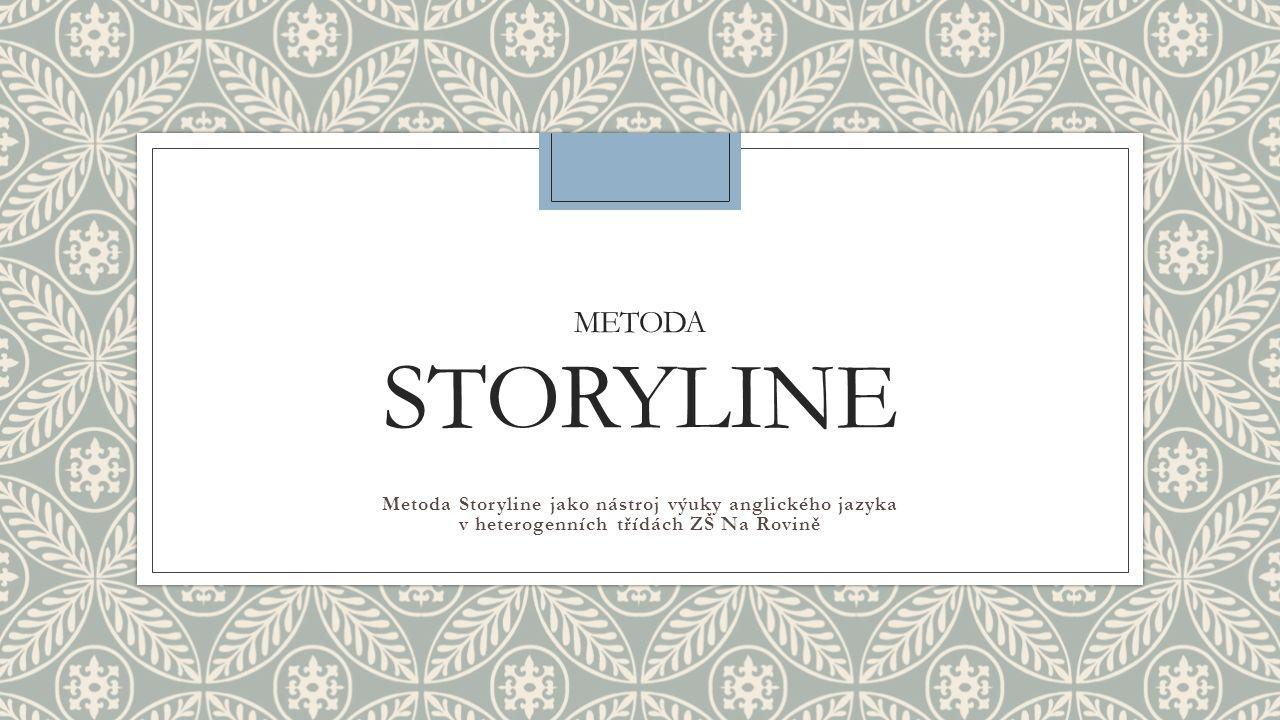 METODA STORYLINE Metoda Storyline jako nástroj výuky anglického jazyka v heterogenních třídách ZŠ Na Rovině