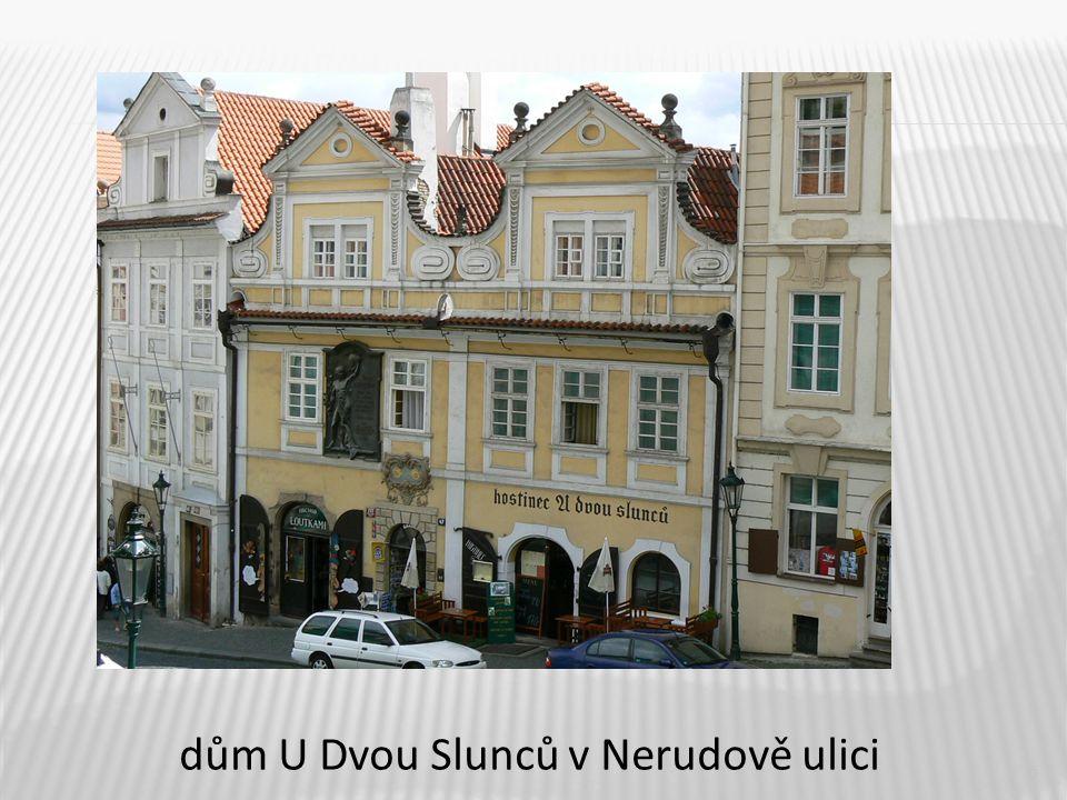 5 dům U Dvou Slunců v Nerudově ulici