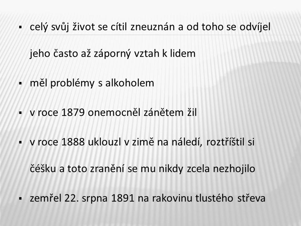 10 hrob Jana Nerudy na Vyšehradském hřbitově v Praze