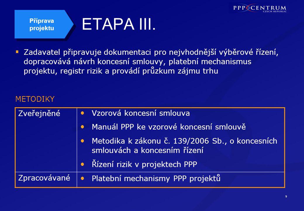 9 ETAPA III.