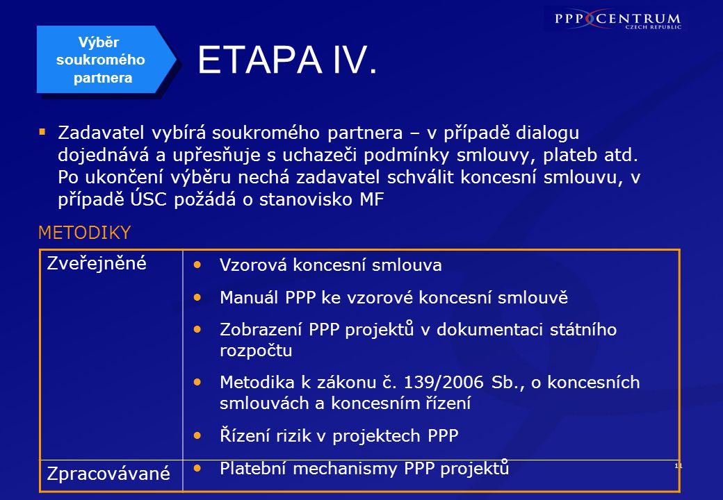 11 ETAPA IV.