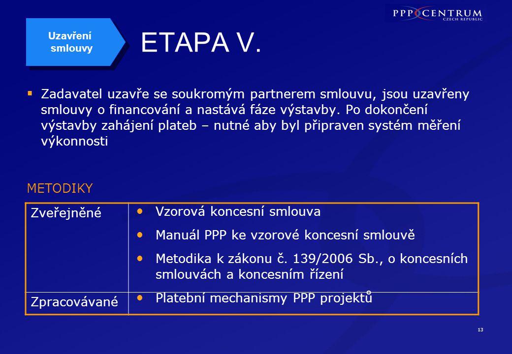 13 ETAPA V.