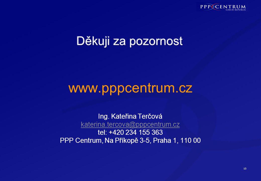 15 www.pppcentrum.cz Ing.