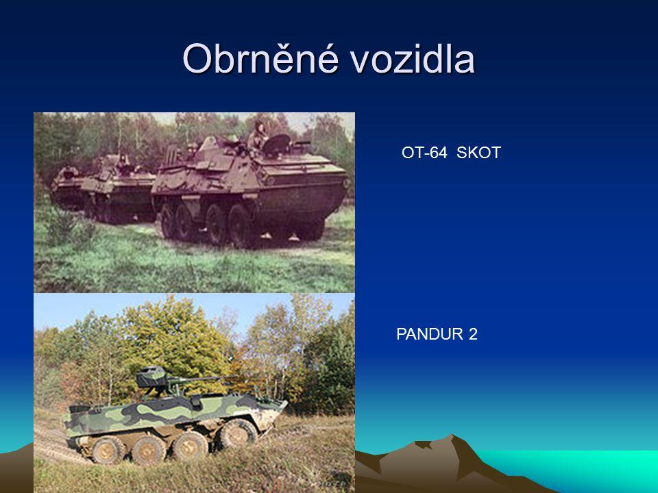 Obrněné vozidla OT-64 SKOT PANDUR 2