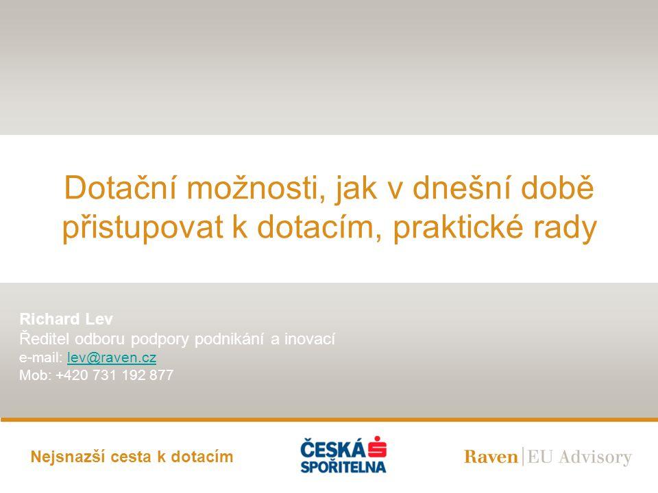 12Kapitola/Slide Modelový příklad – Žádost do programu ROZVOJ  Záměr: chci pořídit CNC soustruh a frézu  Příjem Registračních žádostí do programu: 15.4.2009  Časové hledisko- varianta 1 a 2