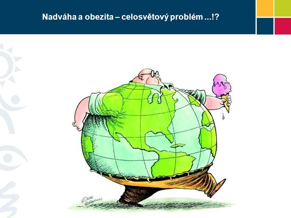 Nadváha a obezita – celosvětový problém...!