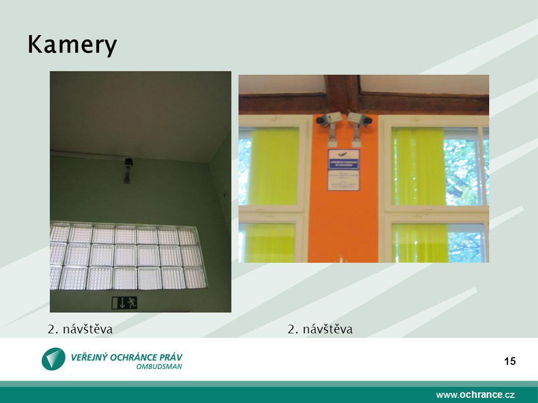 www.ochrance.cz 15 Kamery 2. návštěva