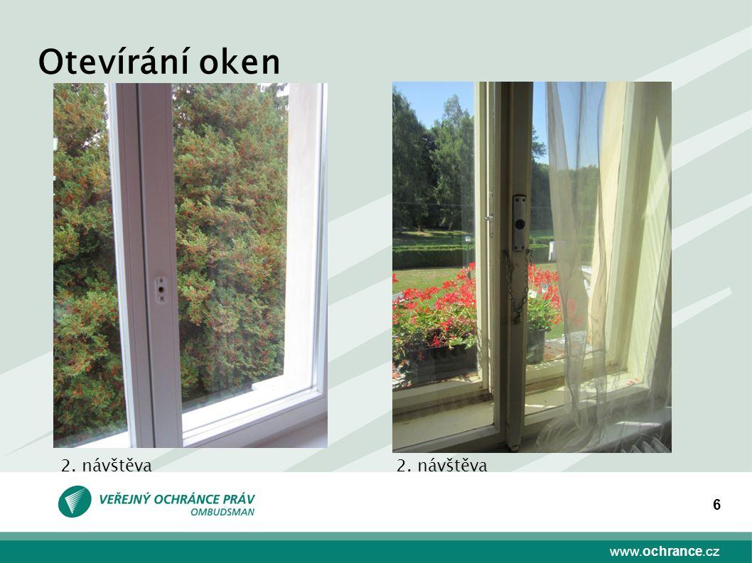 www.ochrance.cz 6 Otevírání oken 2. návštěva