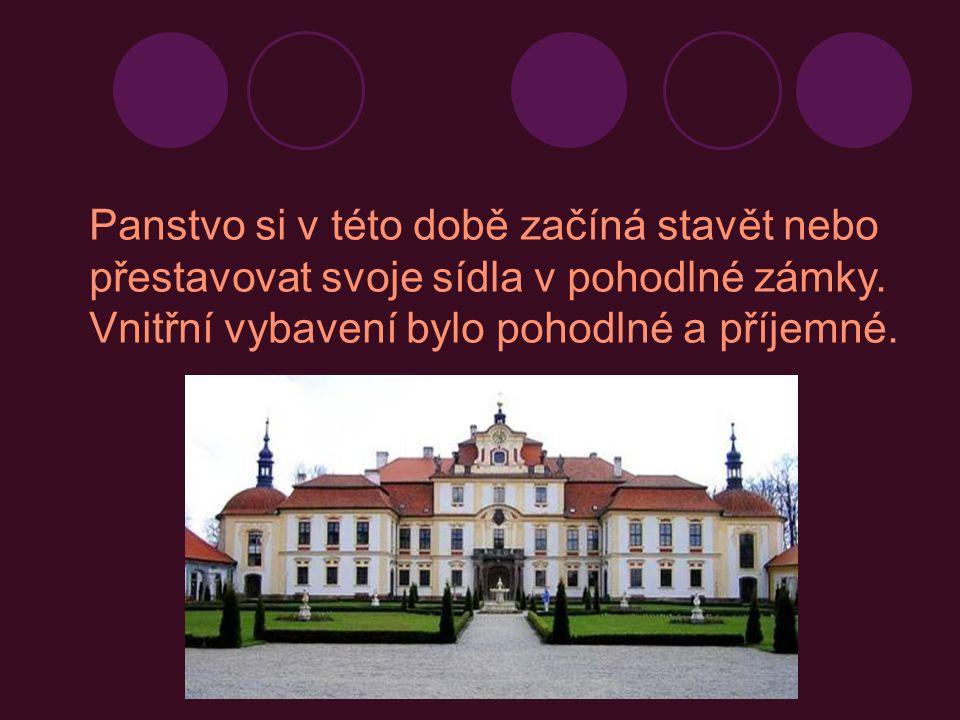 Typické znaky renesančních staveb souměrné budovy, většinou obdélník nebo čtverec.
