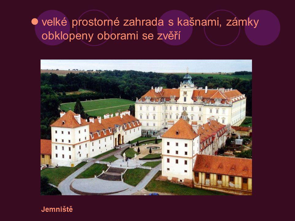 Jaroměřice nad Rokytnou Zámek Bučovice