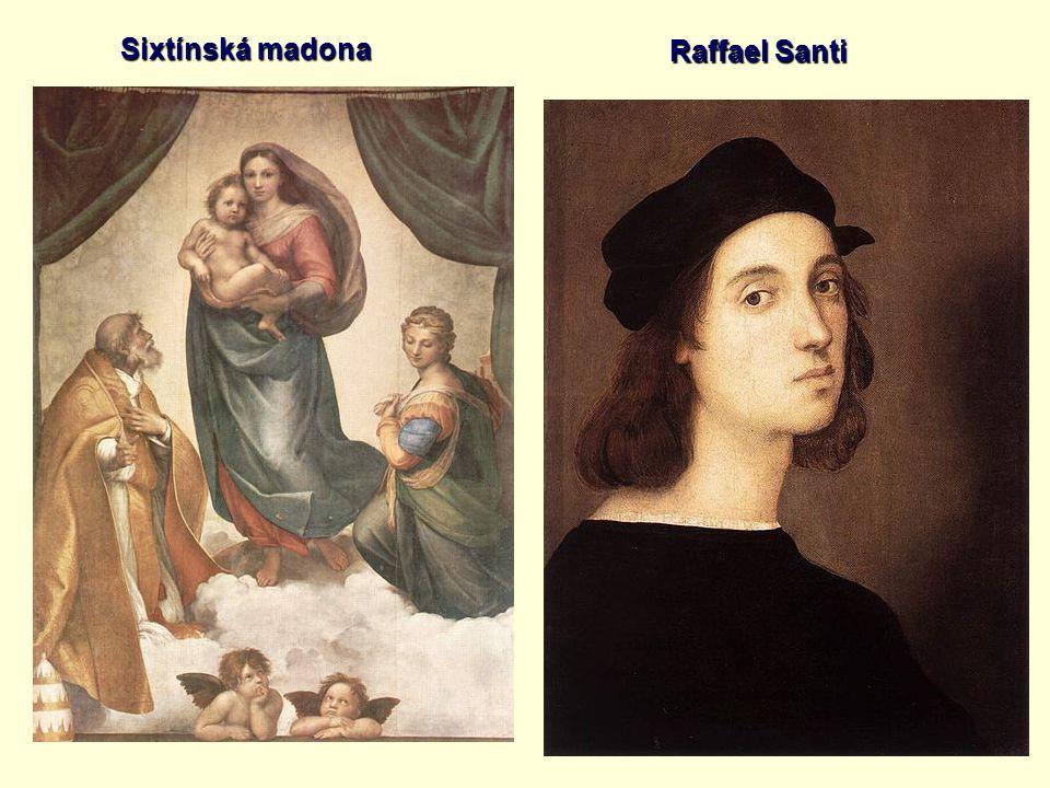 Raffael Santi Sixtínská madona