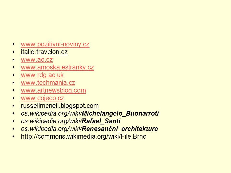 www.pozitivni-noviny.cz italie.travelon.cz www.ao.cz www.amoska.estranky.cz www.rdg.ac.uk www.techmania.cz www.artnewsblog.com www.cojeco.cz russellmc