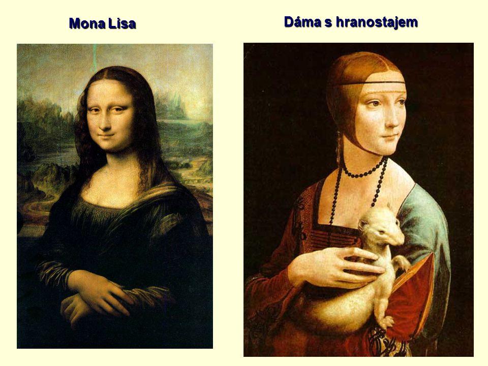 Mona Lisa Dáma s hranostajem