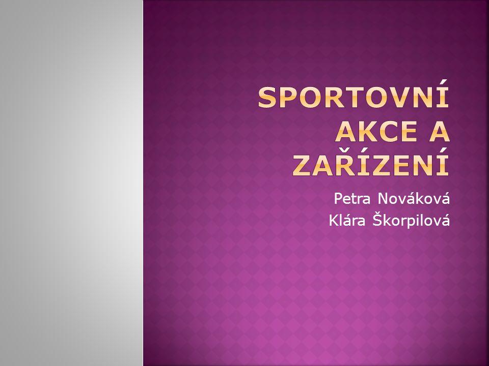 Petra Nováková Klára Škorpilová