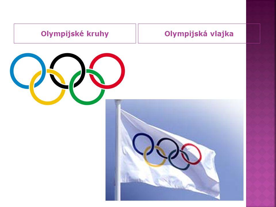 Olympijské kruhyOlympijská vlajka