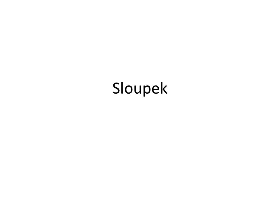 Sloupek