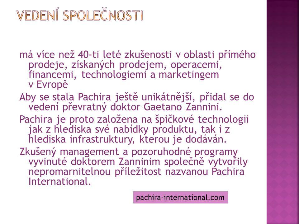 má více než 40-ti leté zkušenosti v oblasti přímého prodeje, získaných prodejem, operacemi, financemi, technologiemi a marketingem v Evropě Aby se sta