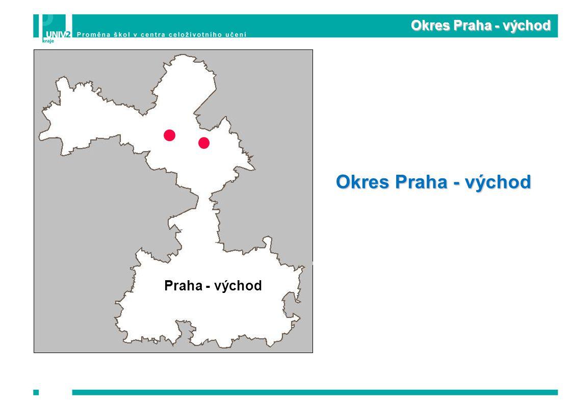 Okres Praha - východ Praha - východ Okres Praha - východ