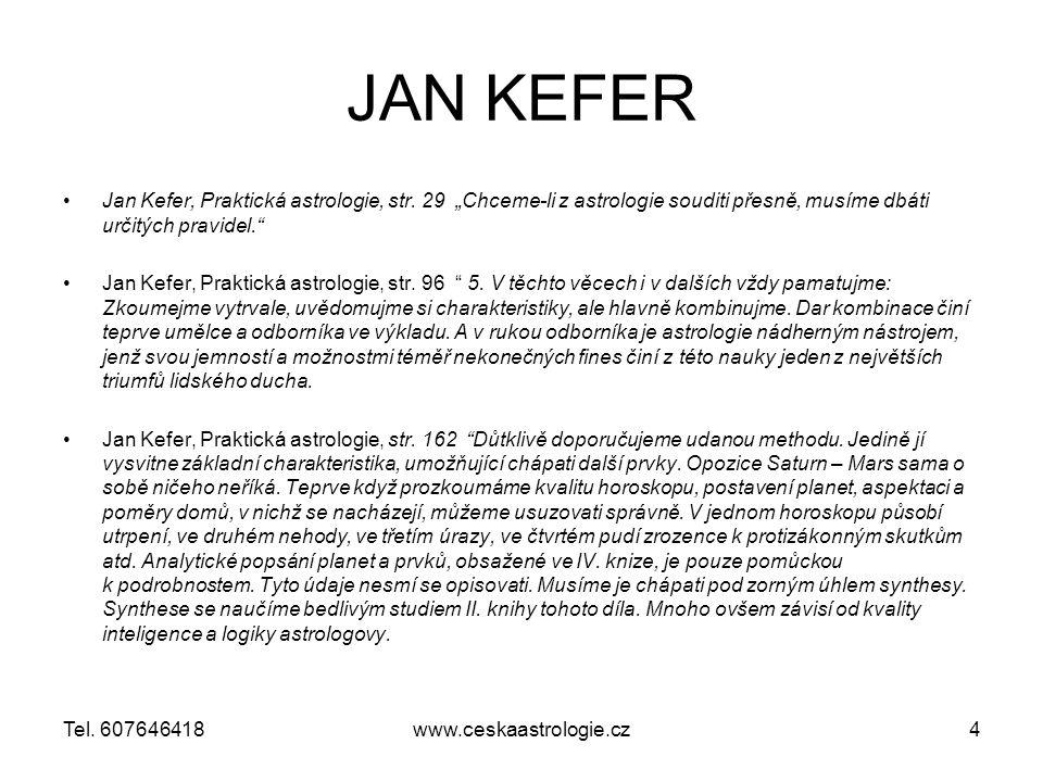 www.ceskaastrologie.cz35Tel. 607646418