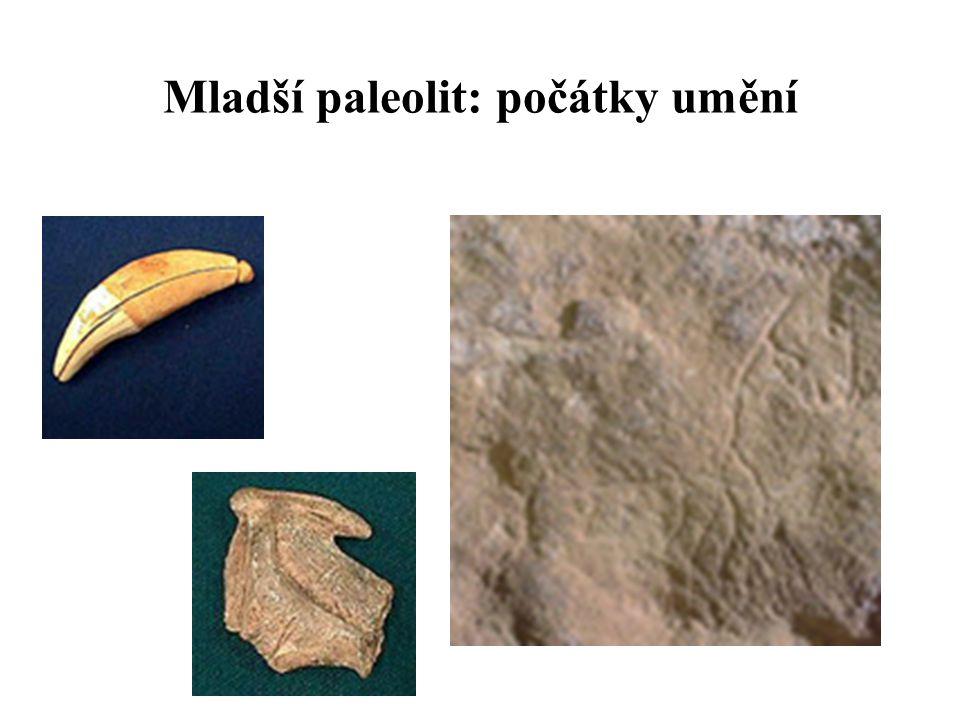 Mladší paleolit: počátky umění